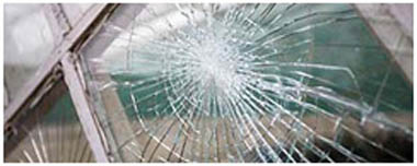 Newport Pagnell Smashed Glass